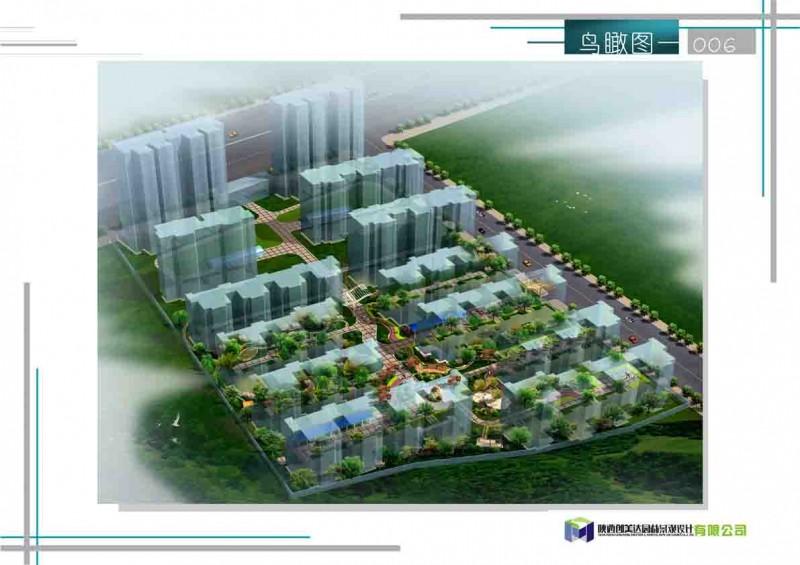 商州惠民住宅小区景观设计