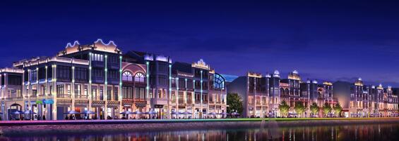 城市亮化设计中超高层建筑的设计注意事项