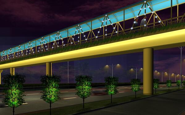 常见的桥梁照明设计效果的误区