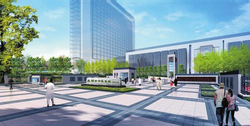 浅析医院景观设计中的植物配置——以芜湖市中医院新院区景观设计为例