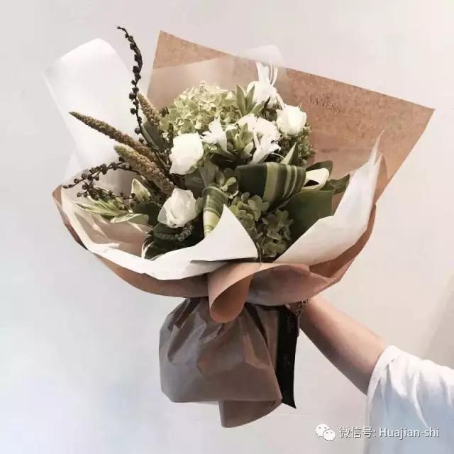 插花:掌握韩式花束精髓