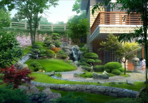 小院景观 (1)