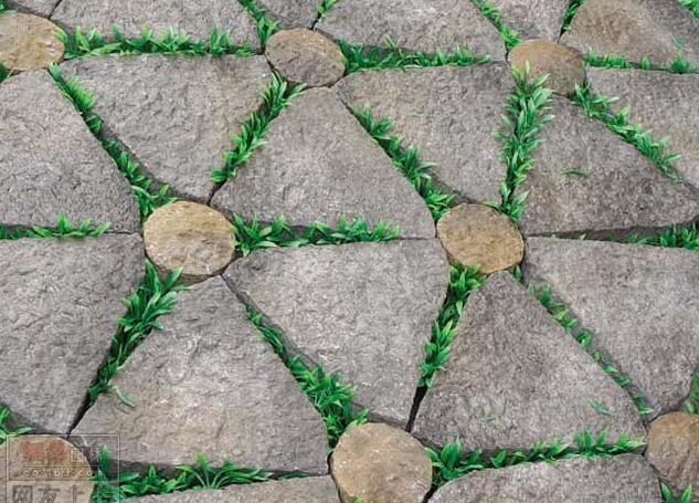 园路景墙 (1)