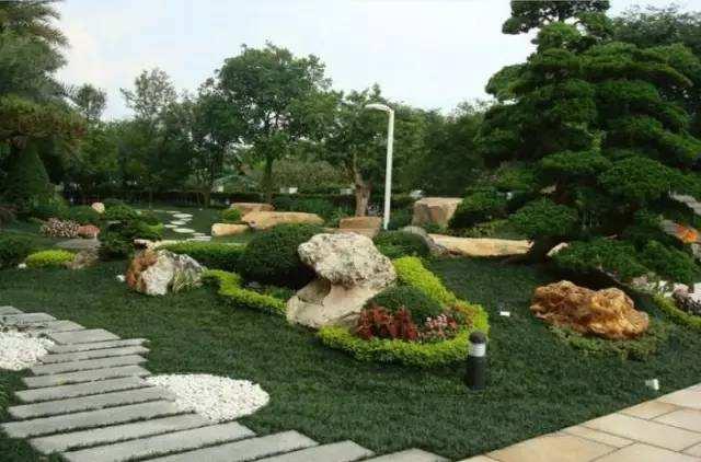 庭院景观花境、花池、花坛、花台的配置方法