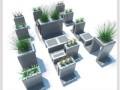 模块化可移动景观小品在轻型屋顶绿化上的设计与应用