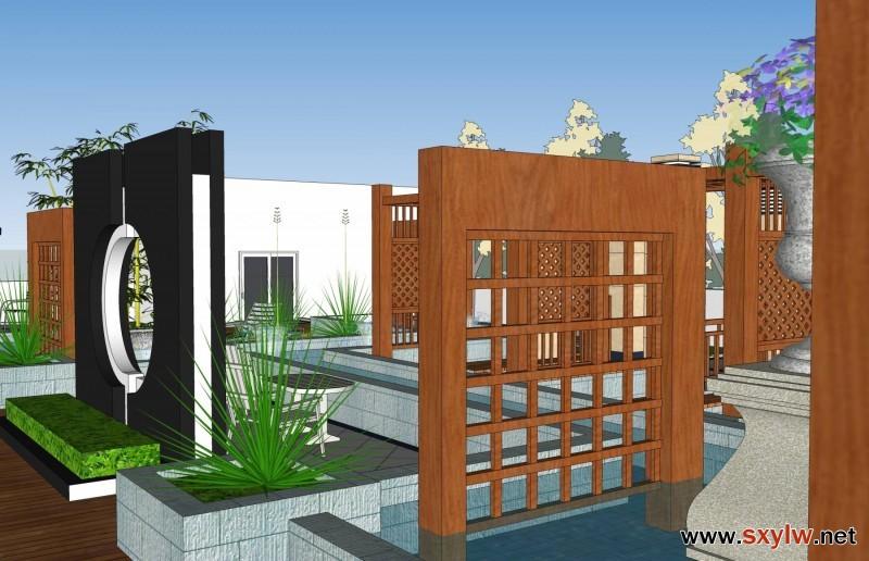楼顶花园景观设计-- 园林林管理员