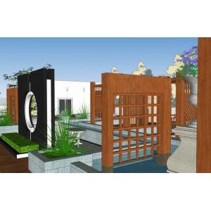 楼顶花园景观设计