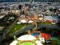 澳大利亚阿德莱德托伦斯河滨区人行天桥景观建筑设计