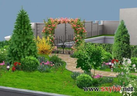 西安市屋顶绿化设计公司