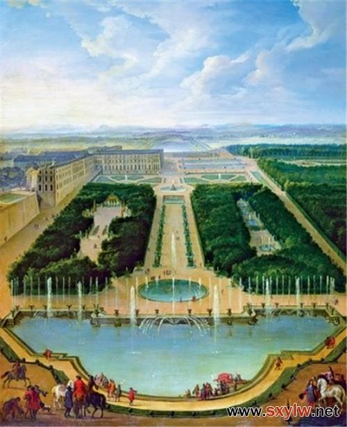 法国古典主义园林是如何布局的
