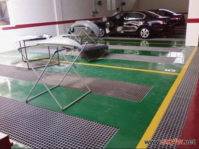 汽车美容洗车玻璃钢格栅