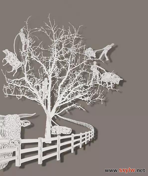乡村元素*创意剪纸