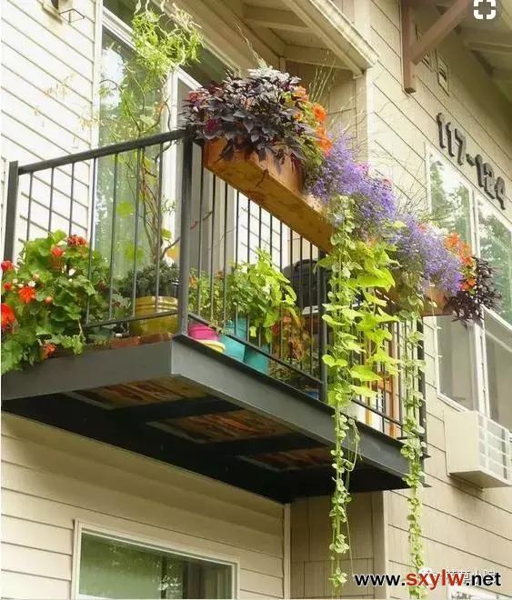 阳台变花园,美到你不想出门