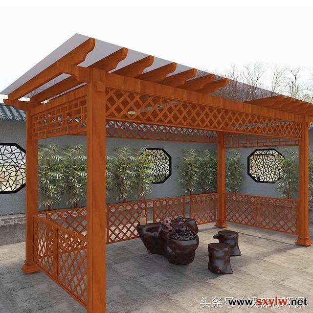 铝合金葡萄架高档住宅设计;阳台秒变空中花园