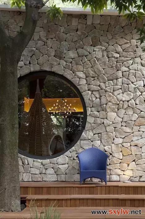 民宿设计之——圆窗