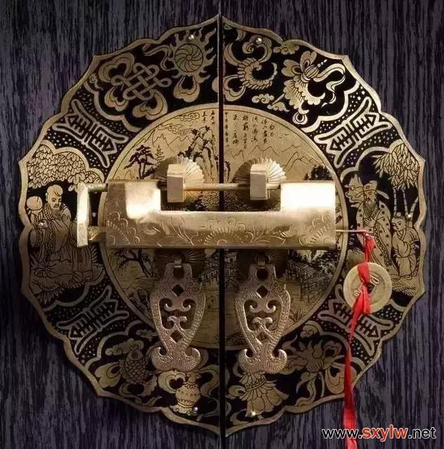 民宿设计——精美的锁