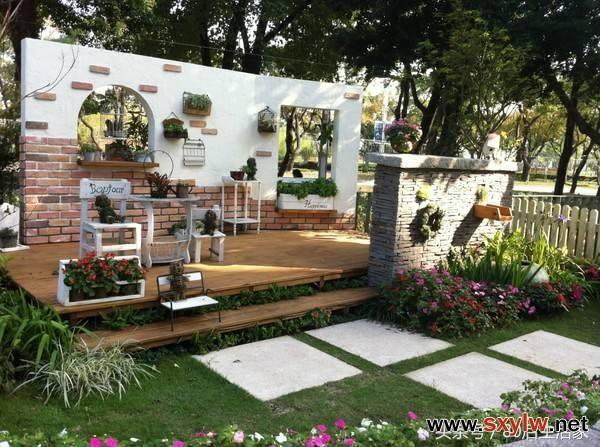局部设计—庭院—庭院设计
