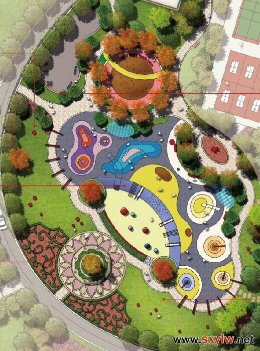 广安依云小镇儿童智慧乐园景观设计