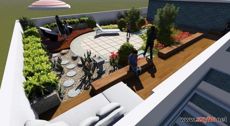 陕西屋顶花园设计