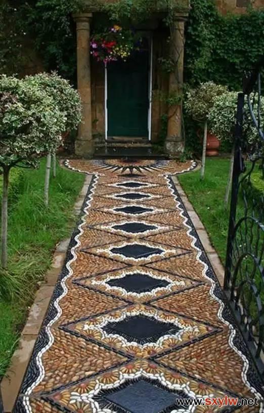 惊美的庭院花园布置
