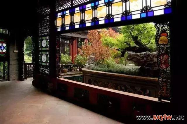 古建景观:窗格即品格