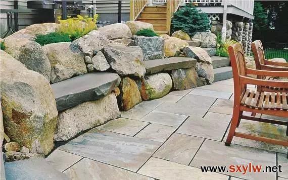 石头在景观设计中的作用
