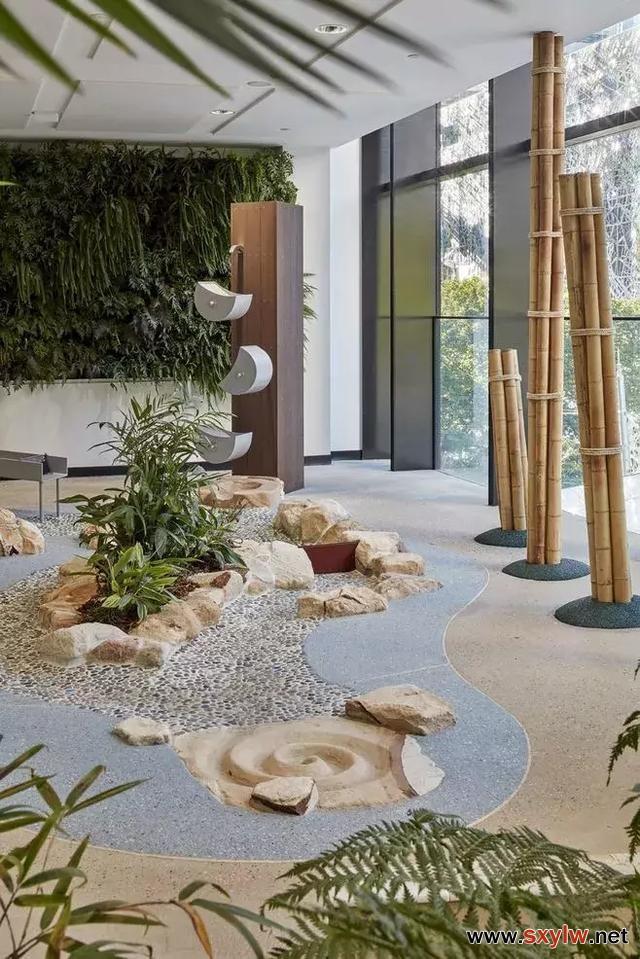 还你一个大自然的室内景观设计