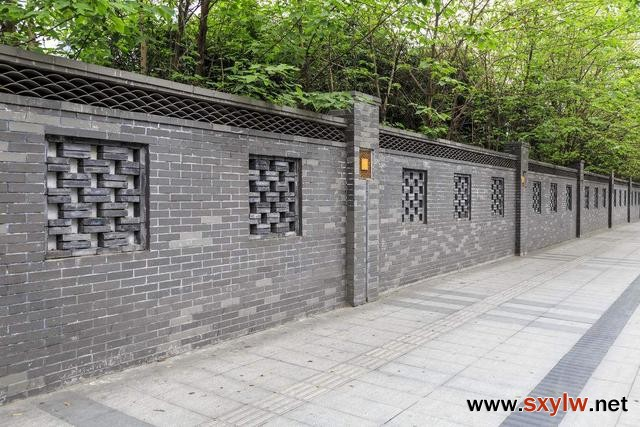 围墙的设计