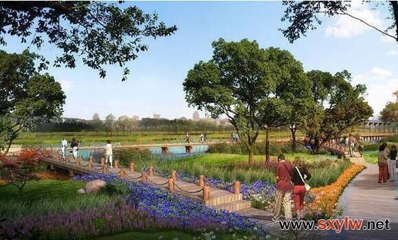 不同色系在园林景观设计中的运用