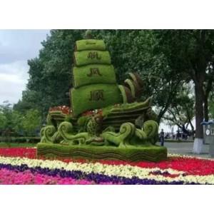 仿真绿雕工艺品 大型工艺品订做 仿真