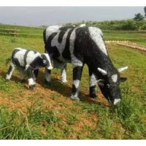 农耕工艺品 稻草景观艺术品 稻草动物