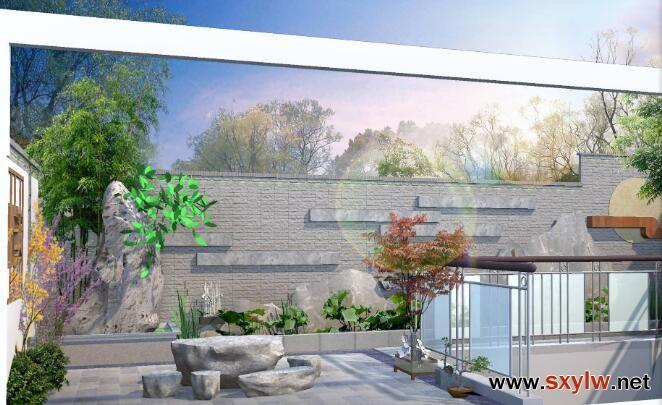 西安花园景观设计-- 西安庭院花园设计公司